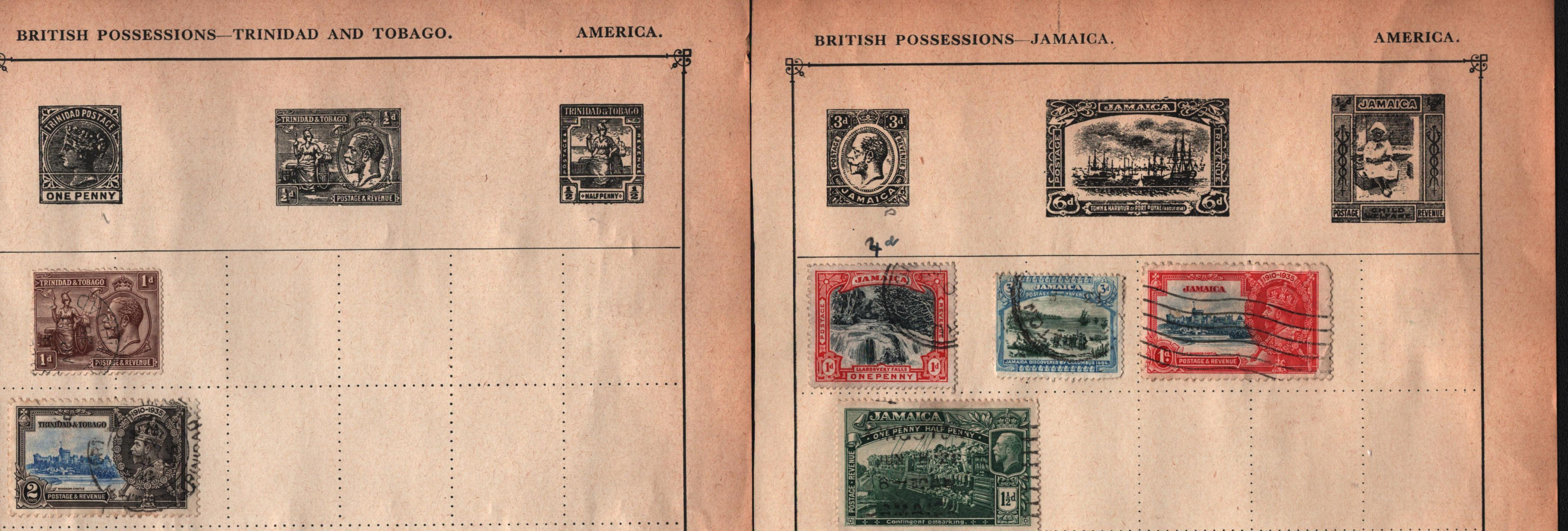 BCW stamp collection on 17 loose pages. Includes Jamaica, Ireland and more. Good condition. We - Image 2 of 2