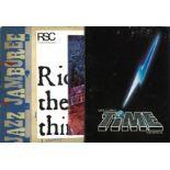 Theatre programme collection 940 onwards includes Jaz Jamboree, Jesus Christ Superstar, Barry