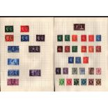 GVI and EVII stamp collection on 9 pages. Good condition. We combine postage on multiple winning