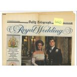 Glory folder collection includes book 50 years old of royal family, 3 post cards royal family