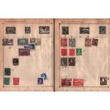BCW stamp collection. 19 pages. Australia and States, Fiji, Canada, NZ. Good condition. We combine