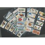 Cigarette card collection from WD and HO Wills. Includes 1938 garden hints, 50 cards, 1932