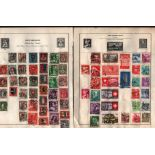 Swiss stamp collection on 3 loose album pages. Good condition. We combine postage on multiple