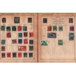BCW collection on 14 loose pages. Amongst stamps are Ceylon, India and States, Federated Malay