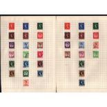 GB stamp collection on 13 pages. Includes QEII early Definitives, commemoratives and regionals. Good