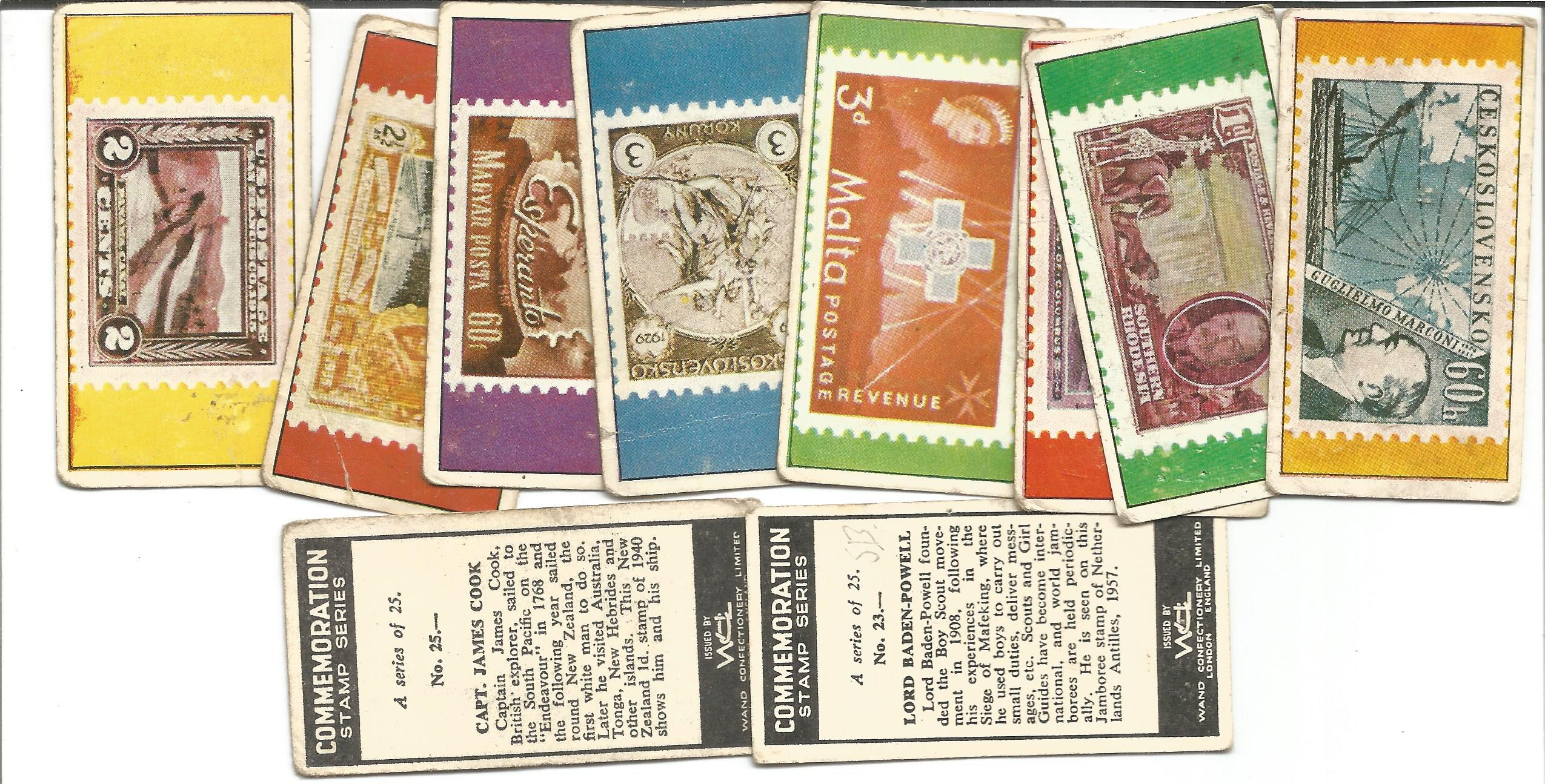 Cigarette card collection. Includes Lyons maid 1966 famous cars 38 cards, The molassme co 1964 - dog - Image 3 of 3