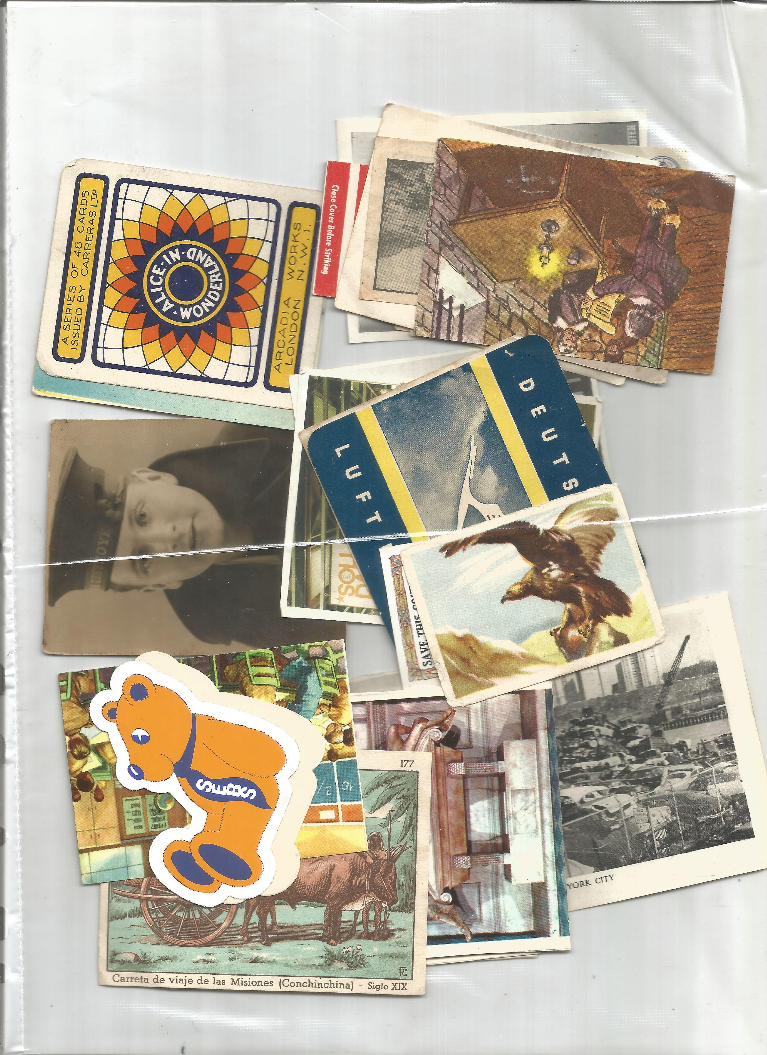 Glory folder, containing GB paquebot postcard, GV stamps and GVI stamps. 4 GB Cinderella stamps. - Image 2 of 3