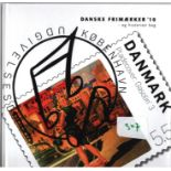 Danish 2010 stamp yearbook. Unmounted mint stamps. Good condition. We combine postage on multiple