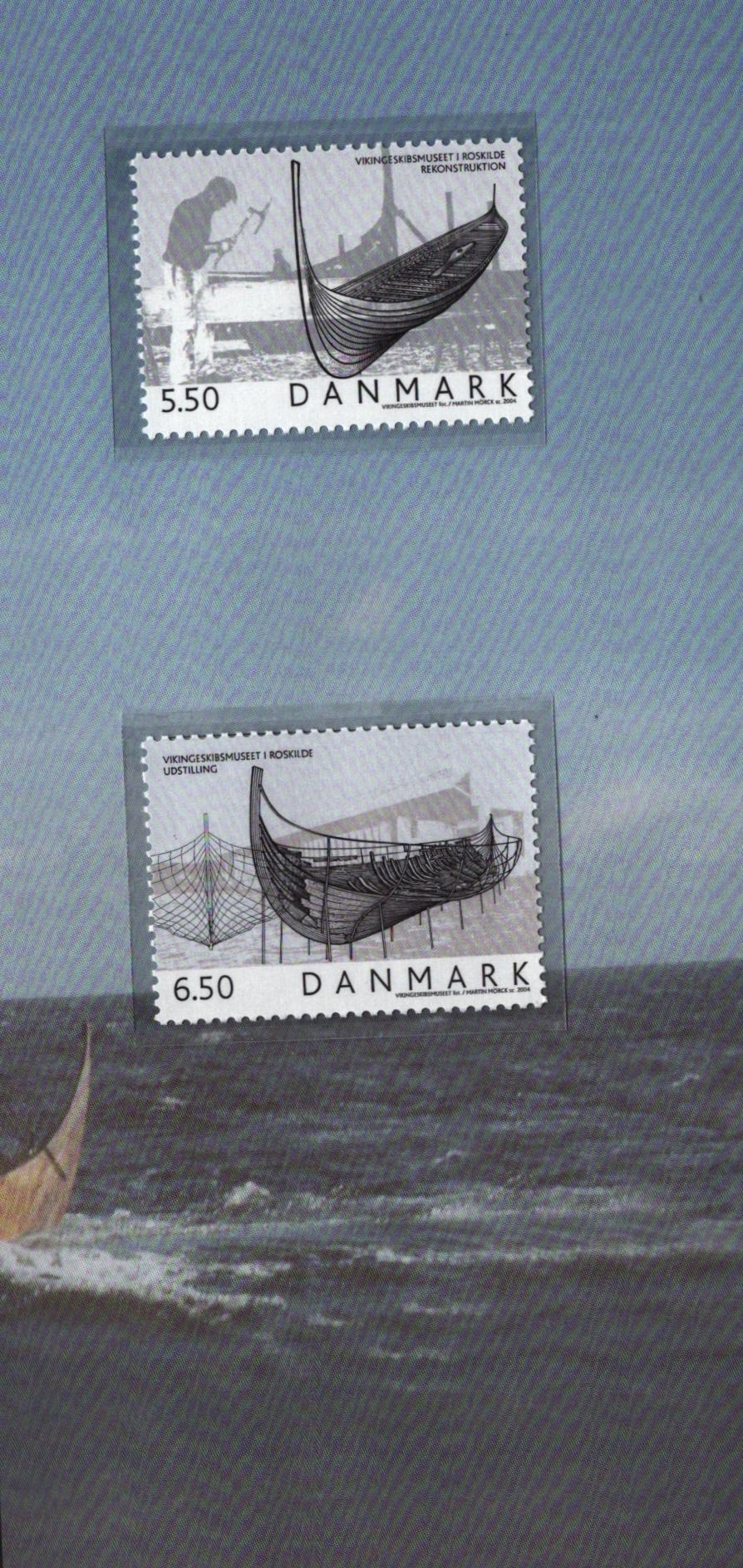 Danish 2004 stamp yearbook. Unmounted mint stamps. Good condition. We combine postage on multiple - Image 2 of 2