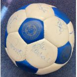 Leicester City F. C. 1996-97 Squad Official Football Signed By Emile Heskey, Ian Marshall, Spencer