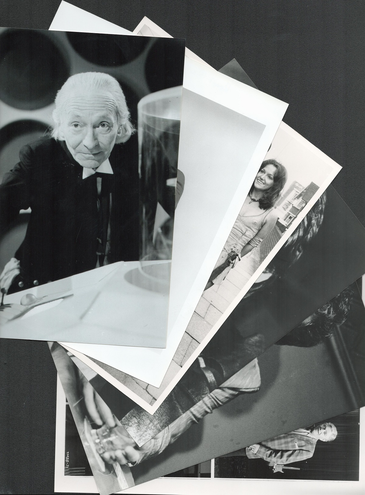Films Over 70 B and W 8x10 Photographs Incs. Spencer Tracy, Mel Brooks, Steven Spielberg, Julie