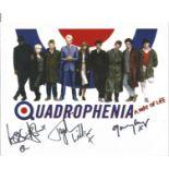 Quadrophenia Lesilie Ash, Toyah Wilcox and Garry Cooper multi signed 10x8 colour photo. Good