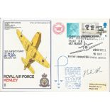 Frank Whittle signed RAF Kenley cover. Good condition. All autographs come with a Certificate of