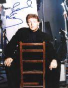 Paul McCartney signed 10x8 colour photo. Sir James Paul McCartney CH MBE (born 18 June 1942) is an