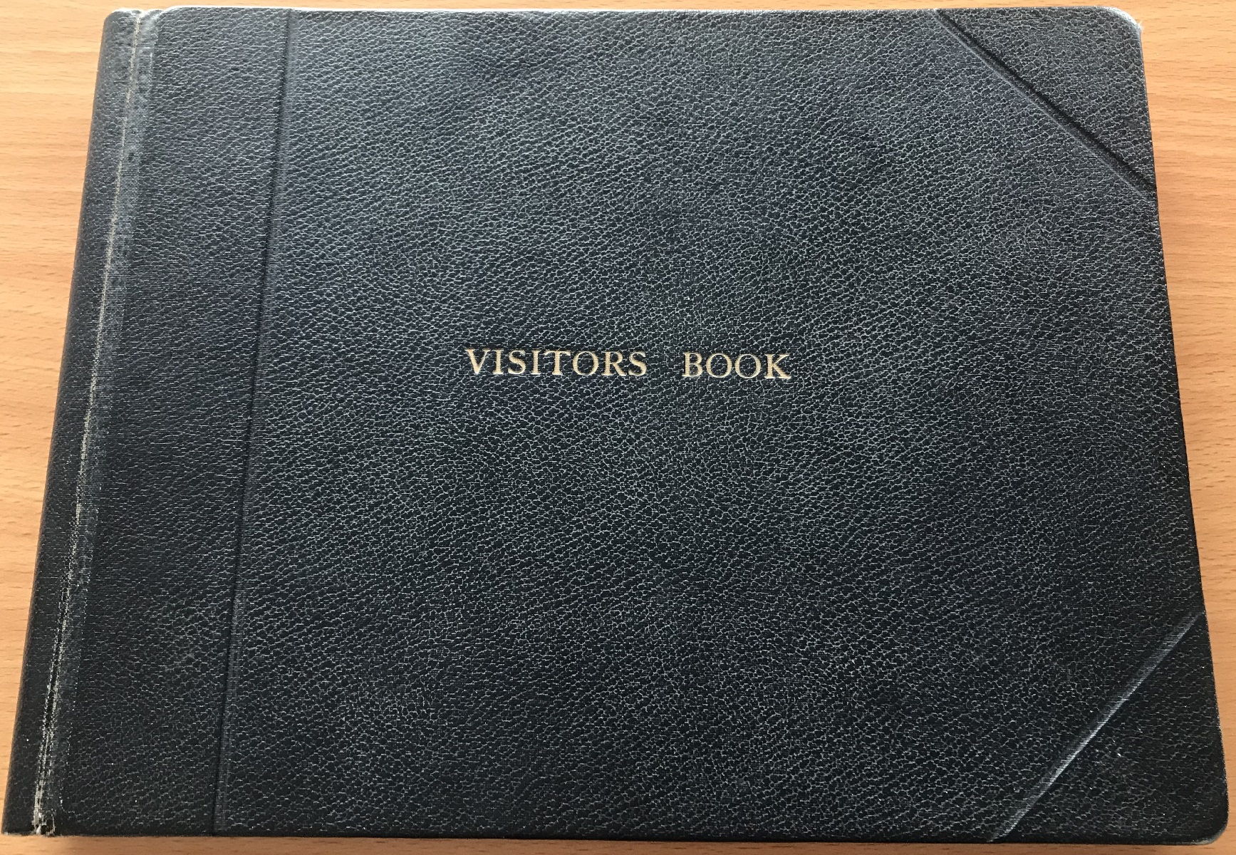 RAF Visitors Book Officers Mess EPISKOPI BFP053 dated 1965-1975 over 60 signatures some rare and