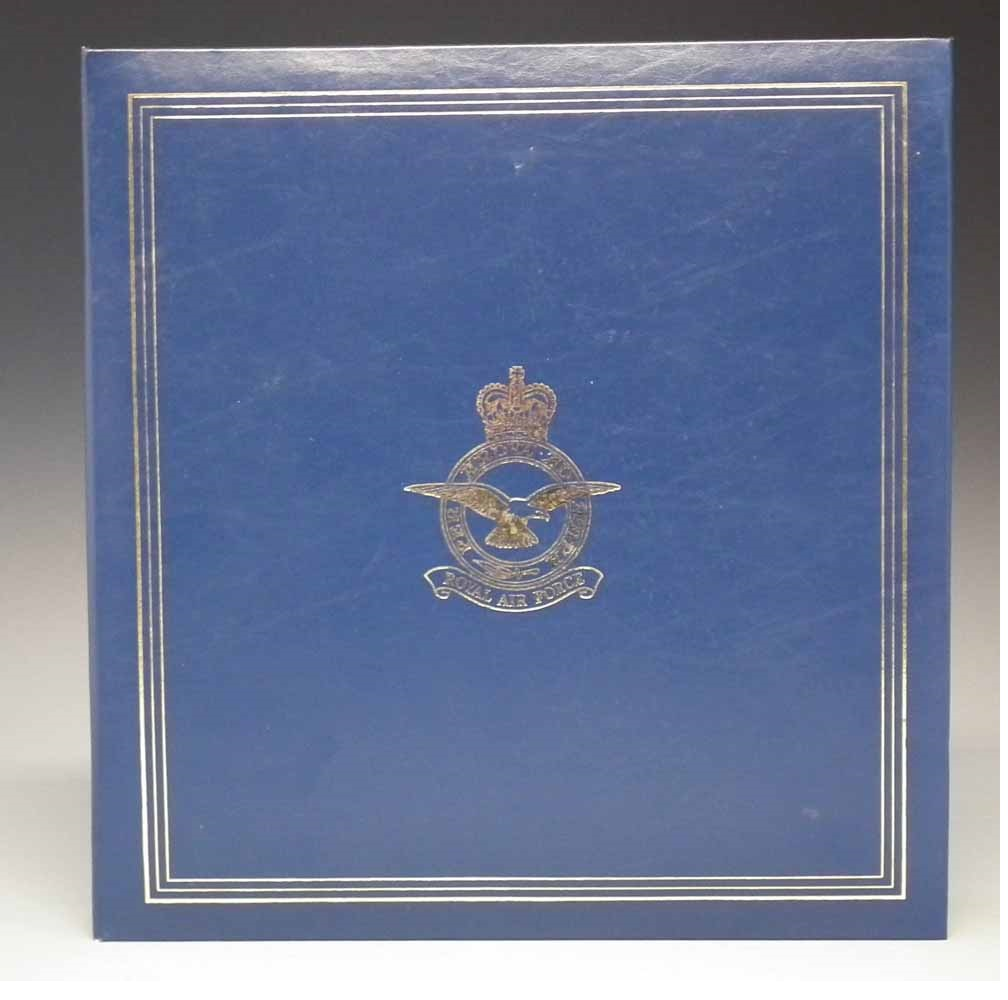 RAF Bomber Command Collection Signed Profiles Each set of profiles is supplied mounted in its own