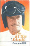 Motor Racing Graham Hill signed hardback book Life at the Limit. Good condition. All autographs come