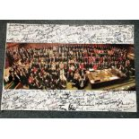 Labour Politicians multiple signed photo. Amazing 16 x 12 inch photo signed by Tony Blair and all