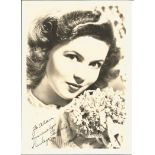 Shirley Temple signed 7x5 vintage sepia photo dedicated. Shirley Temple Black (April 23, 1928 -