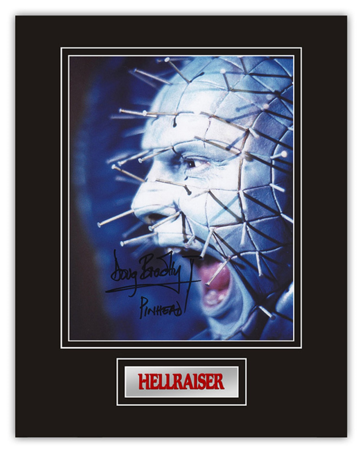 Set of 3 Stunning hand signed Hellraiser professionally mounted displays! This beautiful set of 3 - Image 4 of 4