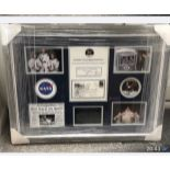 Apollo 11 crew signed FDC framed and mounted. From Apollo Astronaut Walt Cunningham's personal