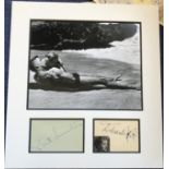 From Here to Eternity 14x13 mounted signature piece includes signatures from the stars of the film
