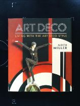 Art Deco Living With The Art Deco Style hardback book by Hudith Miller. Published 2016 Miller's.