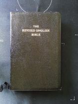 The Revised English Bible softback book 236 pages with dedication Published 1989 Oxford University