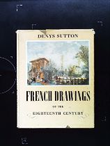 French Drawings Of The 18th Century hardback book by Denys Sutton. Published 1949 Pleiades Books. 62