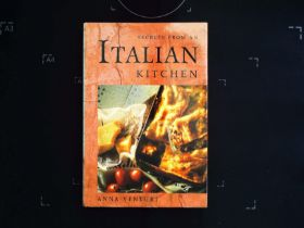 Secrets From An Italian Kitchen by Anna Venturi hardback book 160 pages signed by author on inside