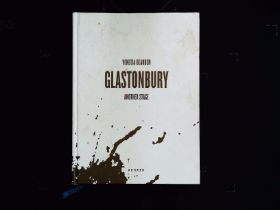 Glastonbury Another Stage by Venetia Dearden hardback book 361 pages signed by author on title