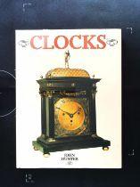 Clocks hardback book by John Hunter. Published 1991 Magna Books ISBN 1-85422-397-6. 160 pages.