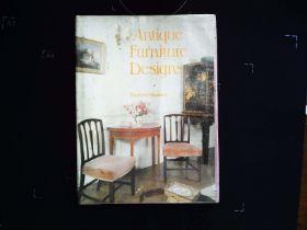 Antique Furniture Designs hardback book by Charles H. Hayward. Published 1979 Evans Brothers Ltd