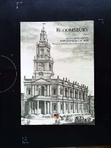 Bloomsbury Auctions London Books, manuscripts, Maps And Works On Paper Wednesday 14th and Thursday