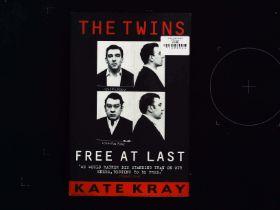 The Twins Free At Last hardback book by Kate Kray. Published 2000 John Blake Publishing. ISBN 10-