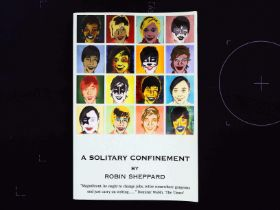 A Solitary Confinement Signed paperback book by Robin Sheppard. Published 2007 Academy Press ISBN