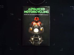 Advanced Motorcycling Institute of Advanced Motorists Manual hardback book 143 pages with