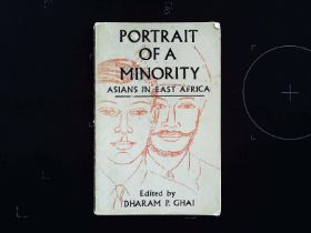 Portrait Of A Minority Asians In east Africa paperback book edited by Dharam P. Ghai. Published 1965