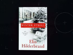 2 hardback books by Elin Hilderbrand. 1 - Winter Storms. Published 2016 Little, Brown and Co ISBN
