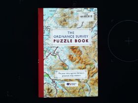 The Ordnance Survey Puzzle Book paperback book. Published 2013 ISBN 978-1-4091-8467-6. 239 pages.
