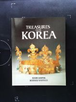 Treasures From Korea paperback book by Roger Goepper and Roderick Whitfield. Published 1984