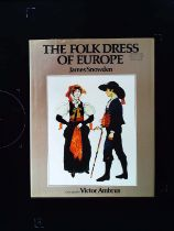 The Folk Dress Of Europe hardback book by James Snowden. Published 1979 Mayflower Books. First