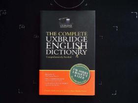 The Complete Uxbridge English Dictionary edited by Graeme Garden and Jon Naismith hardback book