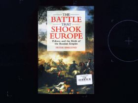 The Battle That Shook Europe Poltava and The Birth Of The Russian Empire paperback book by Peter