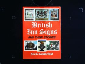 British Inn Signs And Their Stories hardback book by Eric R. Delderfield. Published 1972 David and