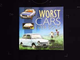 The Worst Cars Ever Sold by Giles Chapman softback book 151 pages Published 2009 The History Press