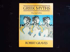 Greek Myths by Robert Graves hardback book 224 pages Published 1981 Book Club Associates. In good