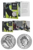 The Royal Mint Tower of London Coin Collection brilliant uncirculated 2019 UK £5 coin in The