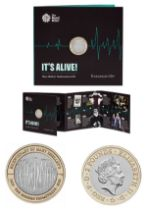 Royal Mint 'It's Alive!' 2018 presentation pack celebrating 200 years since the publication of