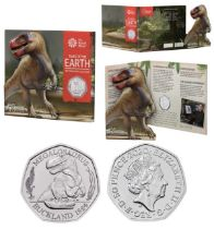 Royal Mint 'Tales of the Earth' presentation pack (from a set of 3) featuring brilliant uncirculated